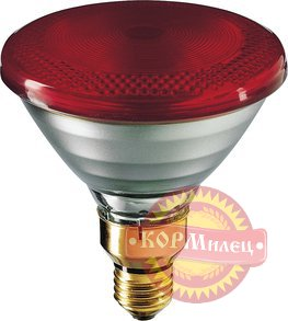Лампа инфракрасн. IR PAR38  175W E27 Philips red  Польша арт. 4772